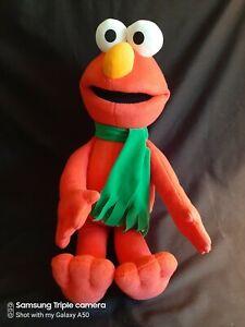 "Fisher Price Sesame Street Large  Elmo 24"" Plush Red Stuffed Animal Toy"
