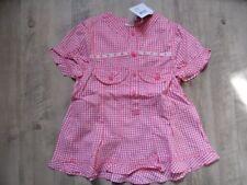 CAKEWALK schöne karierte Bluse pink weiß Gr. 128 NEU ST817