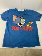 T-shirt with Printed Design - Blue/Tom and Jerry - Kids | H&M US