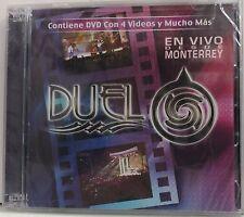 DUELO - EN VIVO DESDE MONTERREY (2005 BRAND NEW CD+DVD)