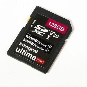 Integral Ultima Pro 128GB Class 10 - SDXC Memory Card