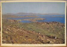Irish Postcard DERRYNANE Harbour from Coomakista Kerry Ireland Cardall Gloss 260
