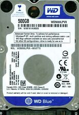 WESTERN DIGITAL SATA 500GB WD5000LPVX-80V0TT0 DCM: HHKTJBB