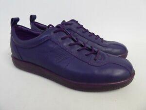 ECCO - Women's Purple Lace Up Shoes/Flats - UK Size 6