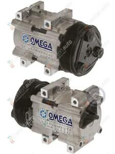 Brand New A/C AC Compressor With Clutch Fits: 1993 - 1997 Ford Diesel V8 7.3L