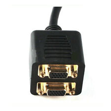 DVI-Male To Dual VGA Female Splitter Cable