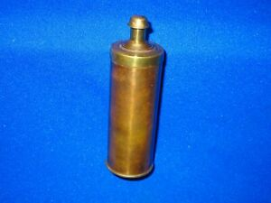 1850'S TO 1860'S PLUNGER STYLE POWDER FLASK FOR A HENRY DERINGER