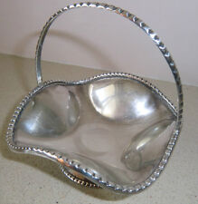 "Holylandoldies-Sterling Silver Candy Dish 171 gms 5"" tall x 4' wide signed"
