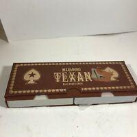 Vintage Playing Cards Double Deck MARLBORO Texan Poker No 45 Texas Star