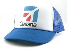 Cessna Trucker Hat mesh hat snapback hat royal new adjustable Airplane hat