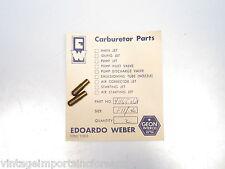 Weber Carb Idle Jets for Weber 40 DCOE 42 DCOE 45 DCOE Carbs 41165.061 (F11/40)