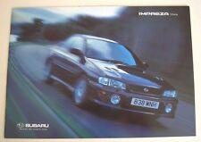 Subaru . Impreza . Subaru Impreza 2.0 Series . Sales Brochure
