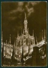 Milano Città Duomo Foto FG cartolina VK2533