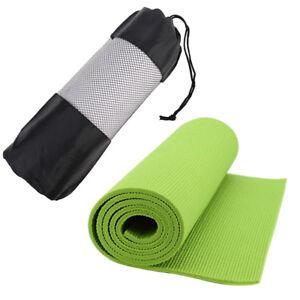 Yoga Pilates Mat Mattress Case Bag Gym Fitness Exercise Workout Carri FN
