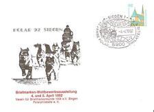 Beleg Bund mit SST  Polar 92 - 22 Jahre Polarphilatelie - 1992