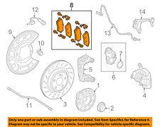 MERCEDES OEM 14-17 S550 Brake-Rear Pads 0084200820