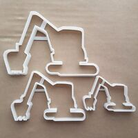 Digger JCB Excavator Shape Cookie Cutter Dough Biscuit Pastry Fondant Sharp