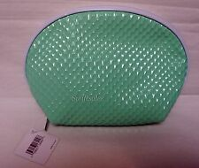 Nordstrom Glossy Seafoam Green Cosmetic Bag - New In Package