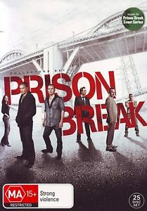 Prison Break: Complete Collection (DVD, 25 Discs) NEW & SEALED