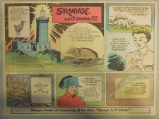 Strange As It Seems: Cape Spartel Lighthouse Morocco, Napoleon by Hix from 1951