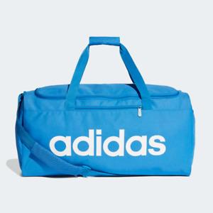New adidas Sports Gym Duffel 41.5L Bag | True Blue Holdall Travel Holiday