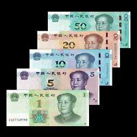 China 5 Fen = 5 Cents P 225 a 1939 UNC No Suffix only Prefix ! Central Bank