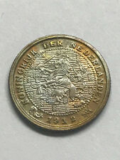 1912 Netherlands 1/2 Cent Unc++ #13029