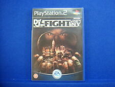 ps2 DEF JAM FIGHT FOR NY Underground Fighting Game Playstation PAL UK Version