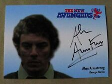 The New Avengers Trading Cards N-A8 Alun Armstrong /George Harris Autograph Card