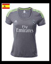 Camisetas de fútbol de manga corta gris adidas  ec7f70e8fa8fb