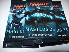 (3) MODERN MASTERS 25 MAGIC THE GATHERING SEALED BOOSTER PACKS FREE SHIPPING
