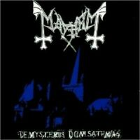 MAYHEM DE MYSTERIIS DOM SATHANAS LTD ED COLOURED VINYL LP BACKONBLACK NEW SEALED