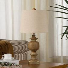 Modern Simplicity Style E27 Diameter 12.4CM Resin+Fabric Bedroom Table Lamp