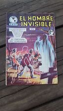 1965 MEXICAN COMIC EL HOMBRE INVISIBLE # 41 (INVISIBLE MAN ADVENTURE/MONSTER)