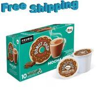 The Original Donut Shop 1 Step Mocha Latte Coffee Keurig k-cups