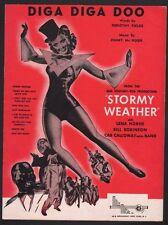 Diga Diga Doo  Lena Horne in Stormy Weather Sheet Music