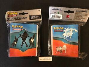 NEW Pokemon SUN & MOON Burning Shadows Mini album binder, holds 60 cards + PACK