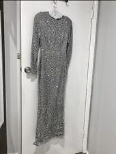 Dollhouse Formal Dress Silver