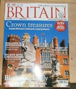 Britain magazine May/Jun 2021 Inside historic Royal palaces +Kent &Sussex garden