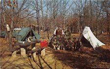 SHENANDOAH VA 1957 Boy Scouts Camping Out in the Shenandoah National Park BSA