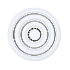 Ventair Sierra 250 LED White Round Low Profile Exhaust Fan - M250SDX-LED