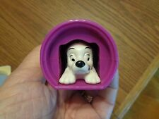 A Dalmation pup in a paint can-slides in and out. ( 101 Dalmations)