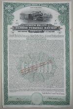 LEHIGH VALLEY HARBOR TERMINAL RAILWAY COMPAGNY 5% Gold (129)