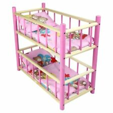 Wooden Miniature Beds for Dolls