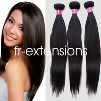 7A 100g 1Bundles Brazilian 100% REMY Virgin Human Hair Weave Extensions UK STOCK