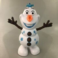 Frozen Dancing Snowman Olaf Robot With Led Music Flashlight Electric Action Figu