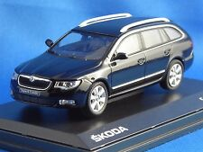 1/43 SKODA  Superb II Combi (2009), Black, NEUHEIT