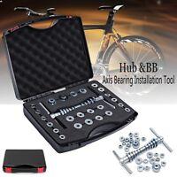 25PCS Pro Bike Bottom Bracket Bicycle Hub &BB Axis Bearing Installation Tool KIT