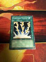 yugioh lightning vortex SDDE-EN026 1st edition common light play