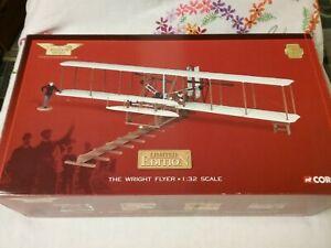 1:32 scale Corgi Ltd Edition Wright flyer model (0535 of 4100) Boxed. Complete.